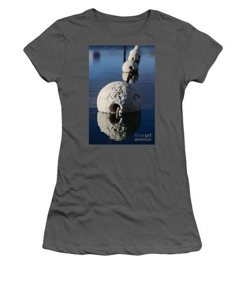 Women's T-Shirt (Athletic Fit) featuring the photograph Buoy In Detail by Stephen Mitchell
