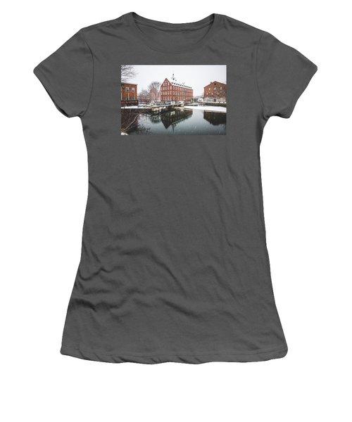 Busiel-seeburg Mill Women's T-Shirt (Junior Cut) by Robert Clifford