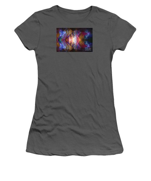 Busy Street Women's T-Shirt (Junior Cut) by Jim  Hatch