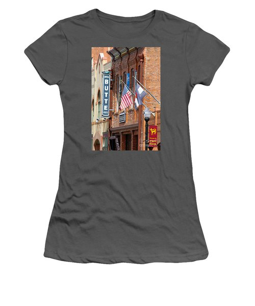 Butte Opera House In Colorado Women's T-Shirt (Athletic Fit)