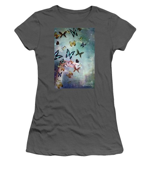Butterflies Reborn Women's T-Shirt (Athletic Fit)