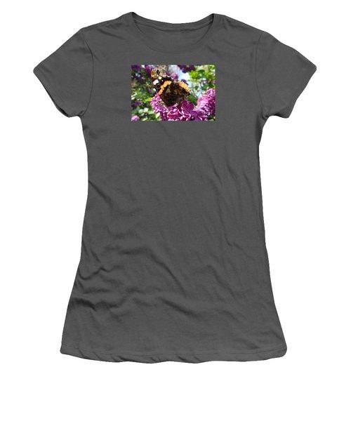 Butterfly 7 Women's T-Shirt (Junior Cut) by Jean Bernard Roussilhe