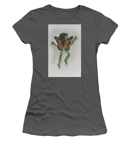 Butterfly Fairy Women's T-Shirt (Athletic Fit)