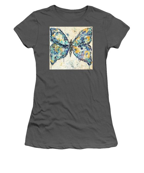 Butterfly Love Women's T-Shirt (Athletic Fit)