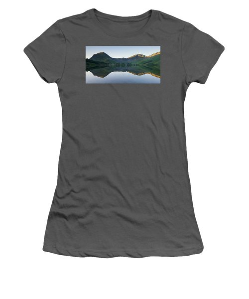 Buttermere Reflections Women's T-Shirt (Athletic Fit)