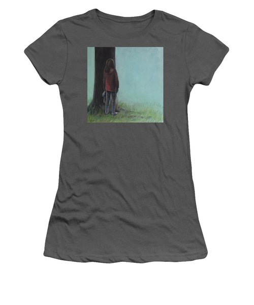 By The Tree Women's T-Shirt (Athletic Fit)