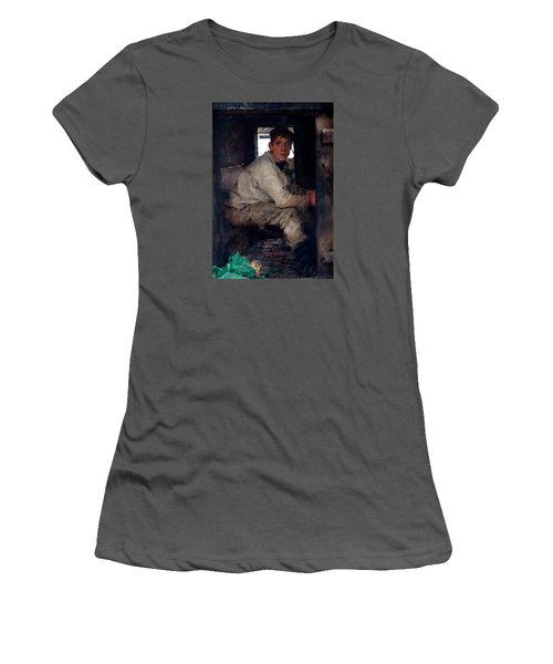 Cabin Boy Women's T-Shirt (Athletic Fit)