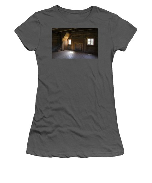 Cabin Home Women's T-Shirt (Athletic Fit)