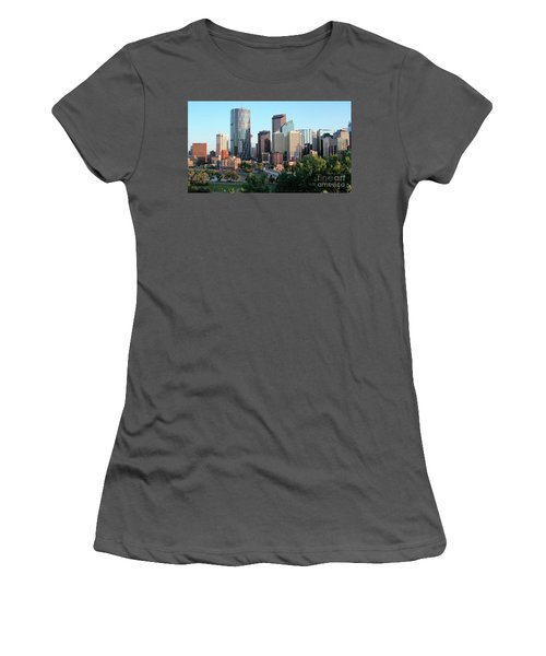 Calgary 2 Women's T-Shirt (Athletic Fit)