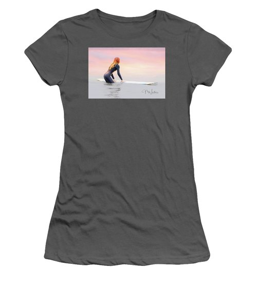 California Surfer Girl I Women's T-Shirt (Athletic Fit)