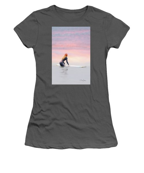 California Surfer Girl II Women's T-Shirt (Athletic Fit)