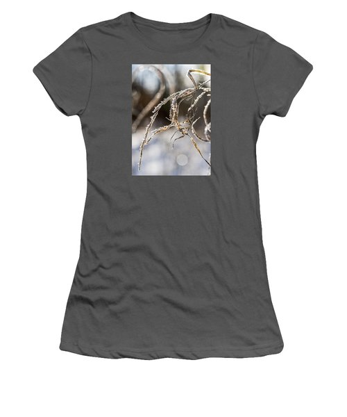 Calligraphy In The Grass Women's T-Shirt (Junior Cut) by Annette Berglund