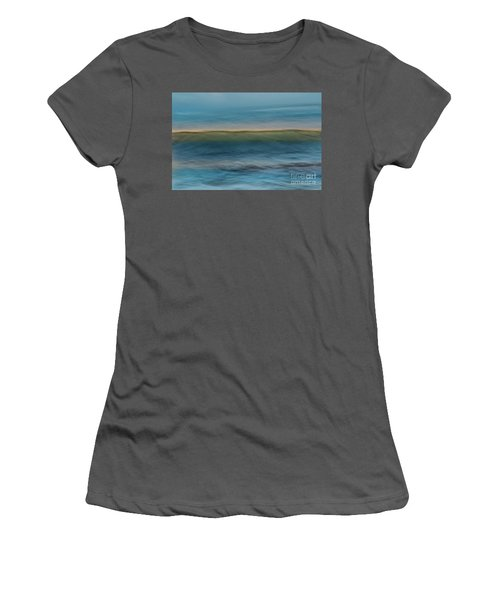 Calming Blue Women's T-Shirt (Athletic Fit)