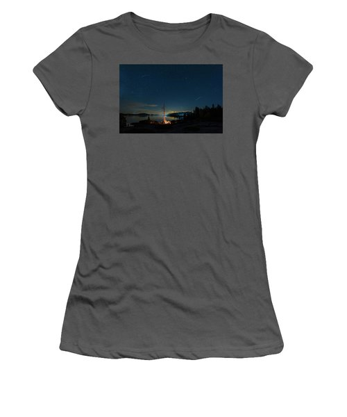 Campfire 1 Women's T-Shirt (Athletic Fit)