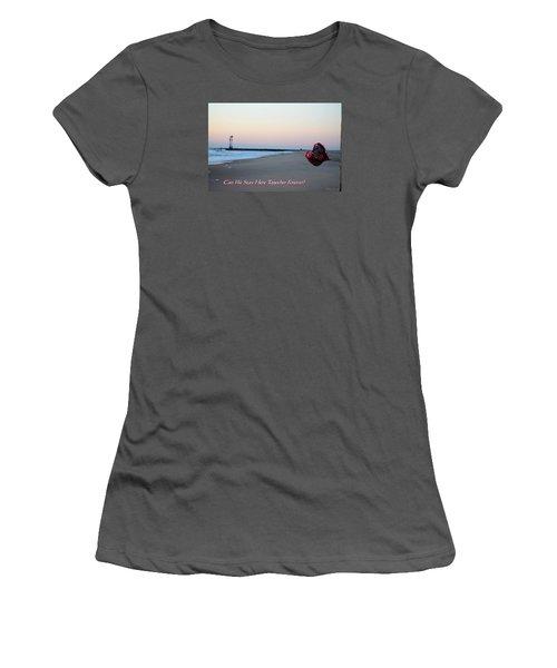 Can We Stay Here... Women's T-Shirt (Junior Cut) by Robert Banach