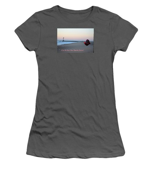 Can We Stay Here... Women's T-Shirt (Junior Cut)