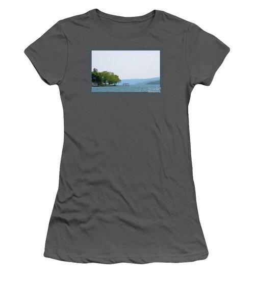 Canandaigua Lake-ii Women's T-Shirt (Athletic Fit)