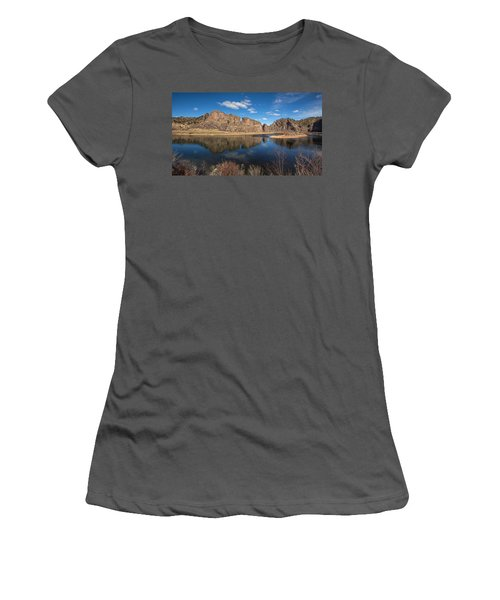 Canyon Reflections Women's T-Shirt (Athletic Fit)