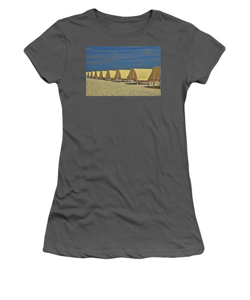 Cape May Cabanas 6 Women's T-Shirt (Athletic Fit)