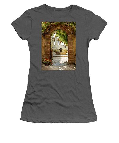 Capistrano Gate Women's T-Shirt (Athletic Fit)