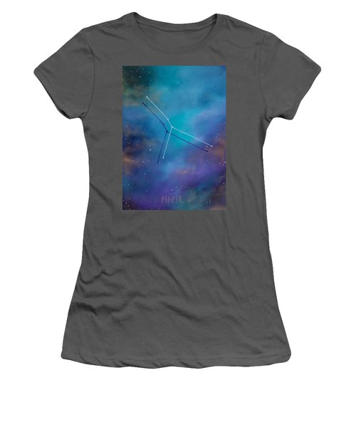Cancer Constellation Women's T-Shirt (Athletic Fit)