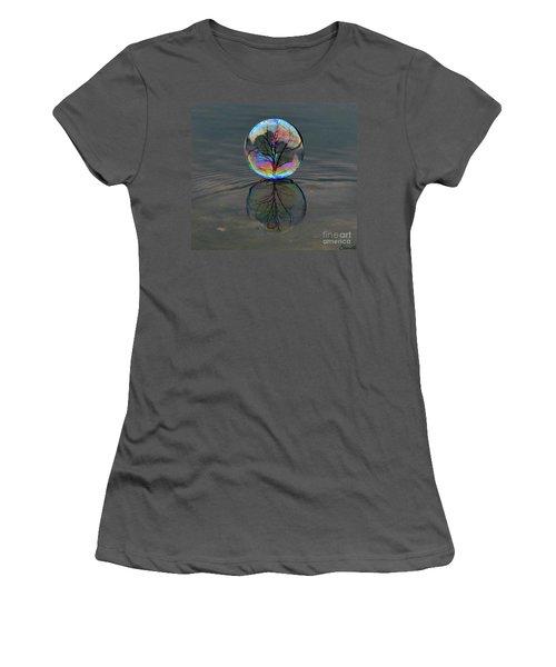 Captured  Women's T-Shirt (Athletic Fit)