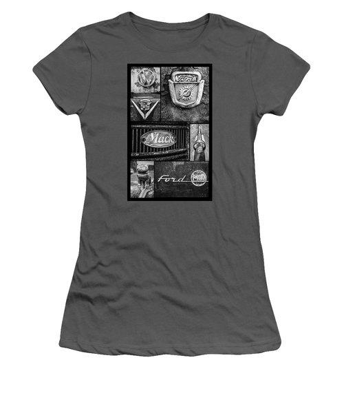 Car Emblems Women's T-Shirt (Athletic Fit)