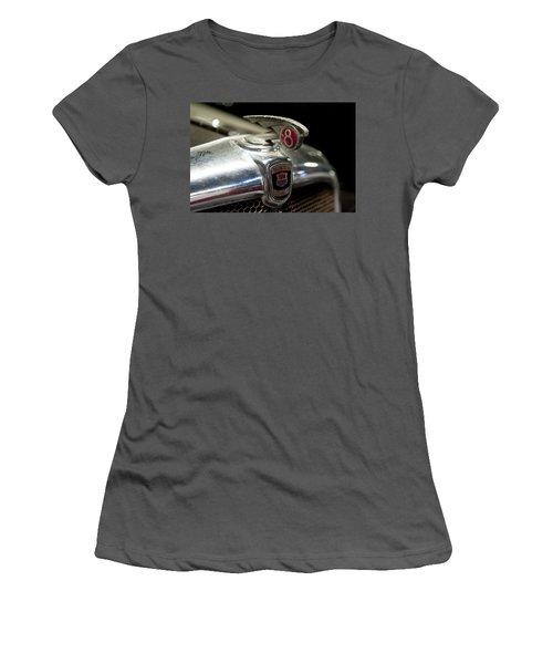 Car Mascot Iv Women's T-Shirt (Junior Cut) by Helen Northcott