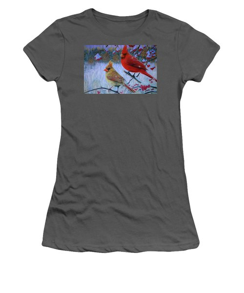 Cardinal Family Women's T-Shirt (Athletic Fit)