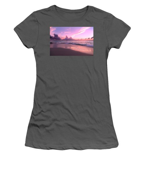 Caribbean Tranquility  Women's T-Shirt (Athletic Fit)