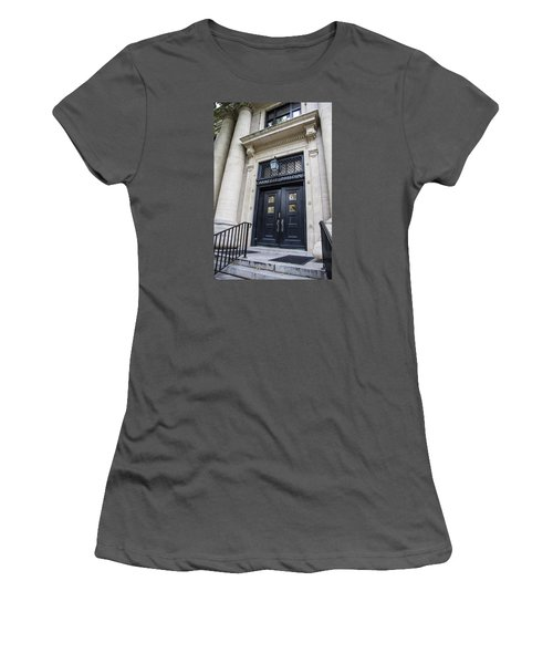 Carnegie Building Penn State  Women's T-Shirt (Junior Cut) by John McGraw