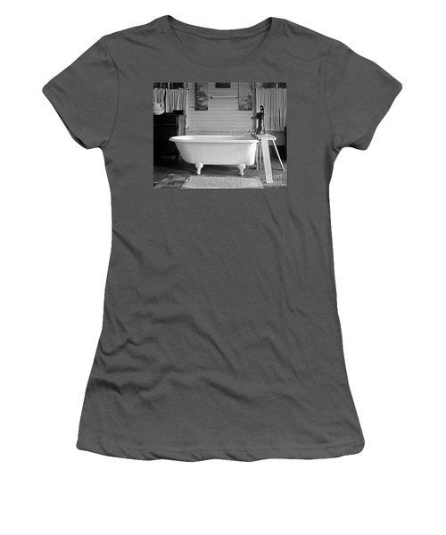 Women's T-Shirt (Junior Cut) featuring the photograph Caroline's Key West Bath by John Stephens