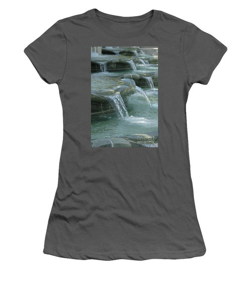 Cascading Fountain Women's T-Shirt (Athletic Fit)