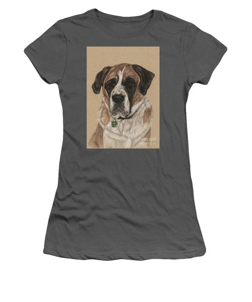 Women's T-Shirt (Junior Cut) featuring the drawing Casey  by Meagan  Visser