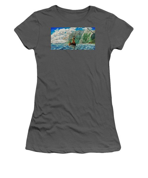 Casting Of The Net Women's T-Shirt (Junior Cut) by Ruanna Sion Shadd a'Dann'l Yoder
