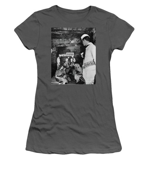 Castle Village Air Raid Shelter Women's T-Shirt (Junior Cut)