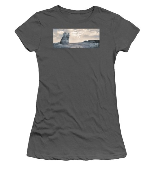 Women's T-Shirt (Junior Cut) featuring the photograph Castles Of Wonder by Thomas Bomstad