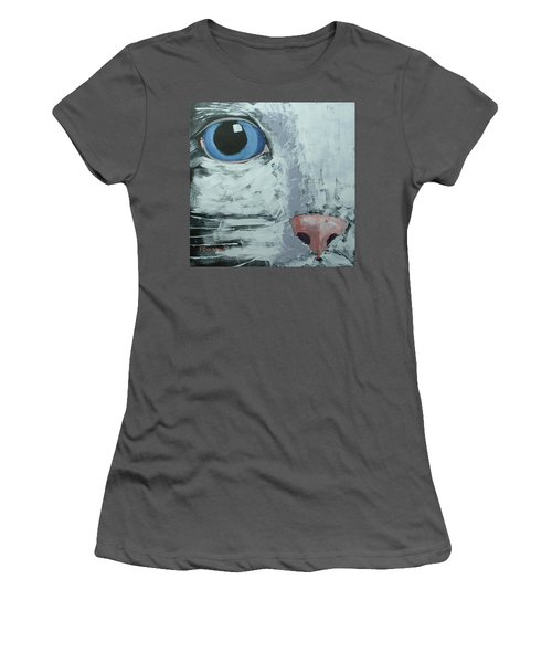 Cat Eye Women's T-Shirt (Athletic Fit)