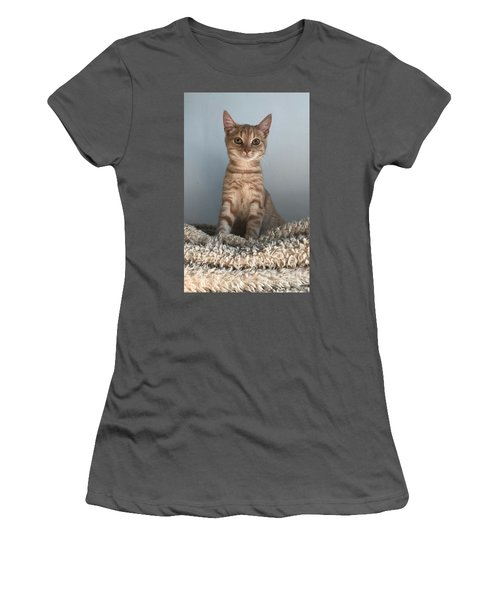 Cat Women's T-Shirt (Athletic Fit)