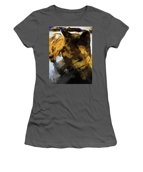 Cat Sleep Shadow Women's T-Shirt (Athletic Fit)