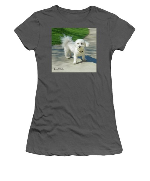 Catch Me If You Can Mommy Women's T-Shirt (Junior Cut) by Emmy Marie Vickers