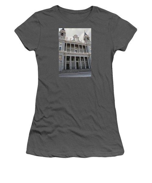 Catedral De La Almudena 2 Women's T-Shirt (Junior Cut) by Angel Jesus De la Fuente