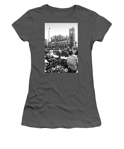 Cathedral Church Of Christ, Marina Women's T-Shirt (Athletic Fit)
