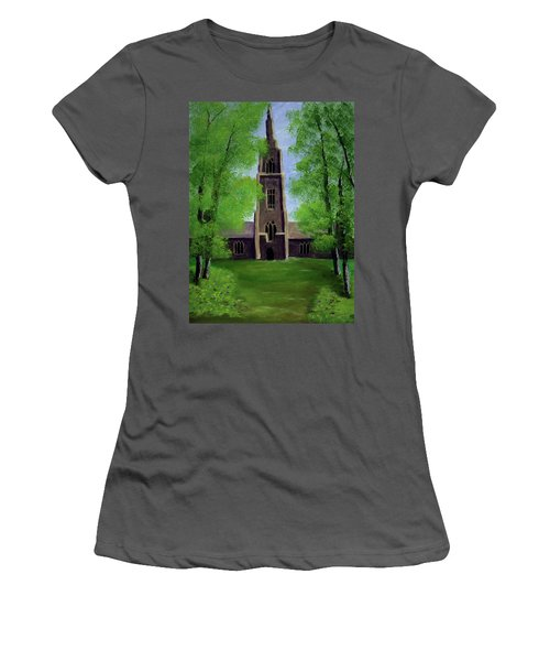 Cathedral Women's T-Shirt (Athletic Fit)