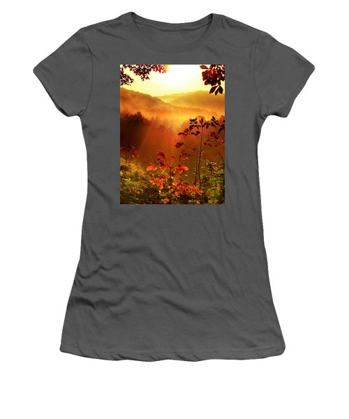 Cathedral Of Light - Special Crop Women's T-Shirt (Athletic Fit)
