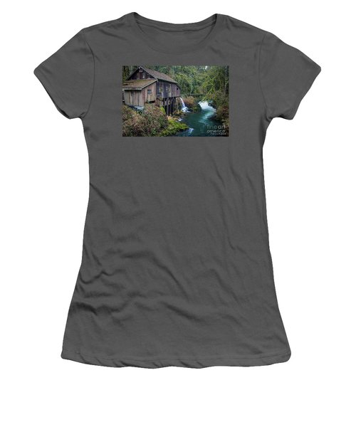 Cedar Grist Mill Women's T-Shirt (Athletic Fit)