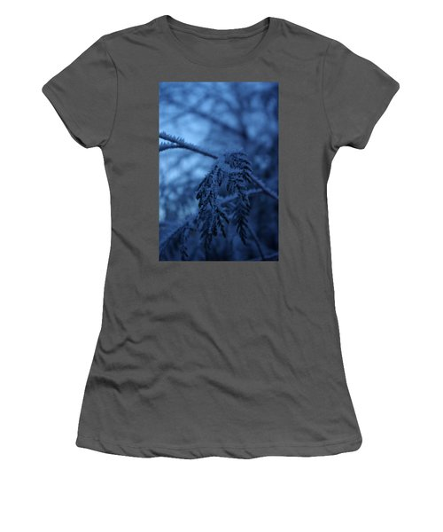 Cedars Of Ice II Women's T-Shirt (Athletic Fit)