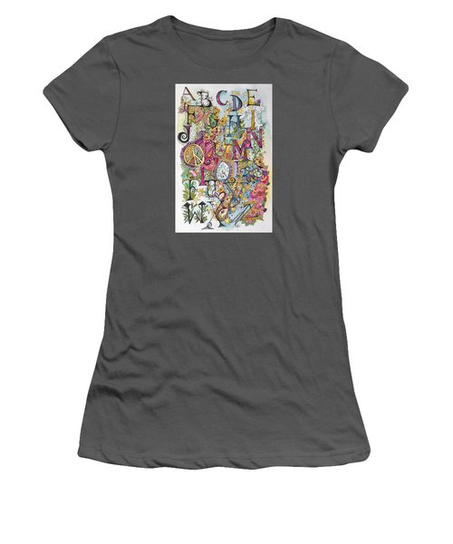 Celebrate Women's T-Shirt (Junior Cut) by Claudia Cole Meek