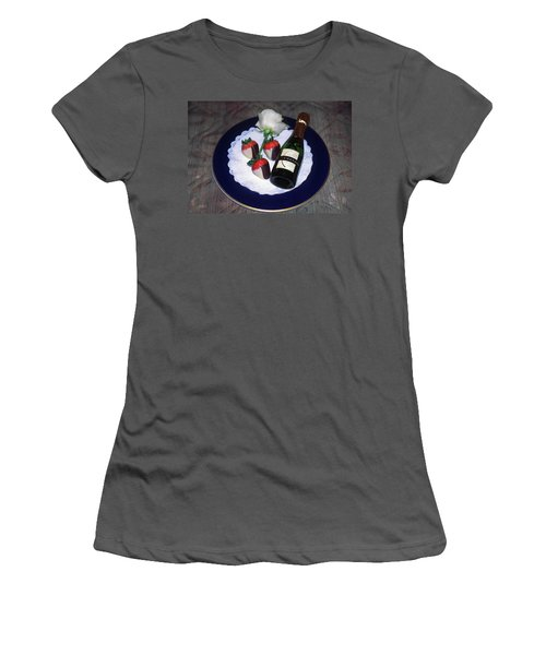 Celebration Plate Women's T-Shirt (Junior Cut) by Sally Weigand