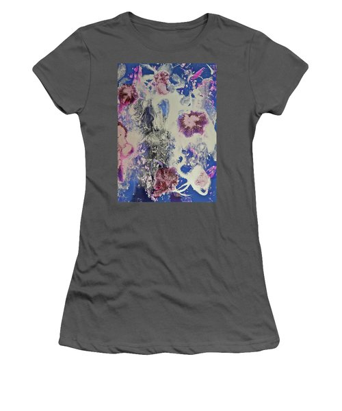 Women's T-Shirt (Athletic Fit) featuring the painting Celestial by Michele Myers